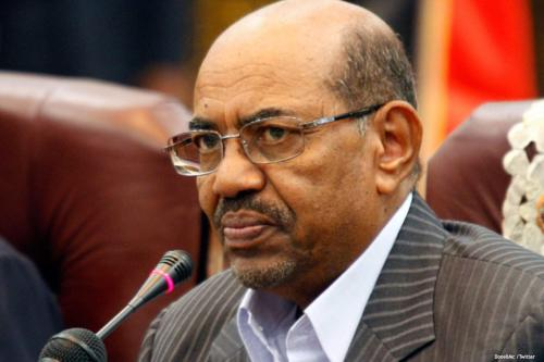 Image of Sudanese President Omar Al-Bashir [DonellMc/Twitter]