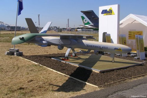 Image of Israeli defence contractor Elbit, one of the15 US companies that has been sanctioned by Iran [MilborneOne/Wikipedia]