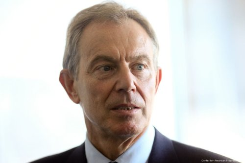 Former British PM Tony Blair [Center for American Progress/Flickr]