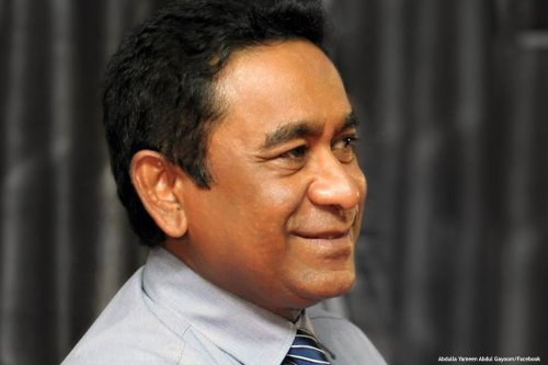 Image of President of the Maldives, Abdulla Yameen [President of the Maldives, Abdulla Yameen]