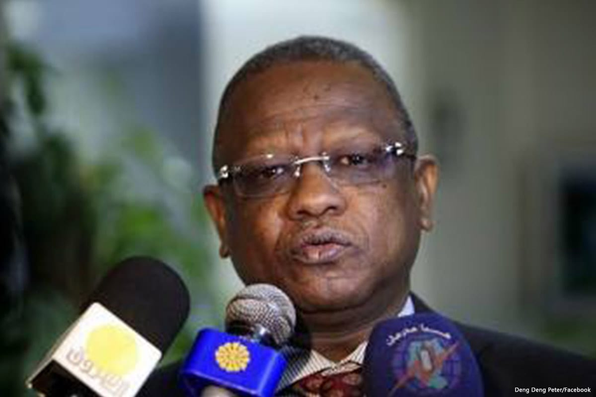 Image of Sudan's security chief, Mohammed Atta Abbas Al Moula [Facebook]