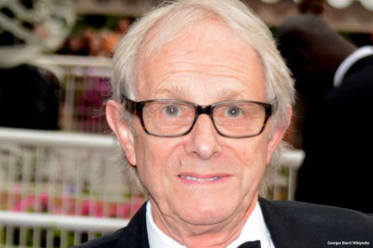 Image of British film maker Ken Loach [Georges Biard/Wikipedia]