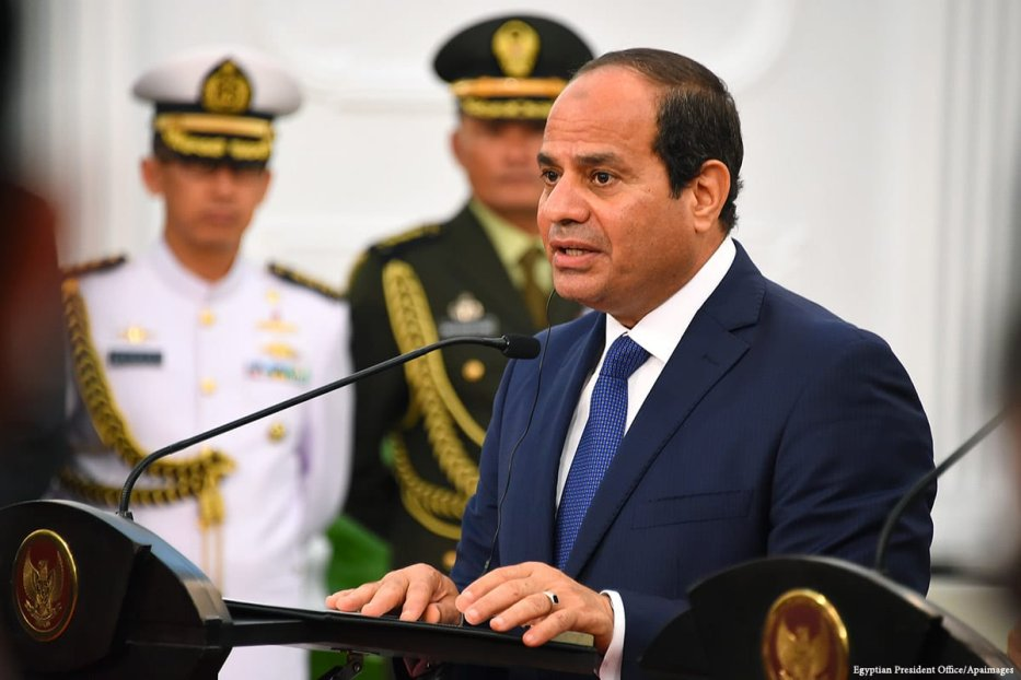 Image of Egyptian President Abdel Fattah al-Sisi [Egyptian President Office/Apaimages