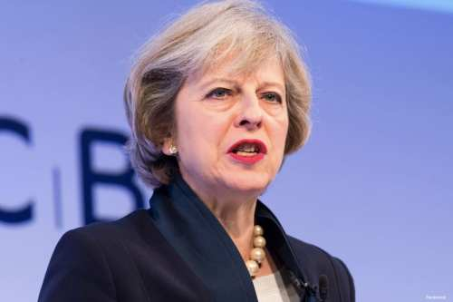 Image of UK Prime Minister Theresa May [Facebook]