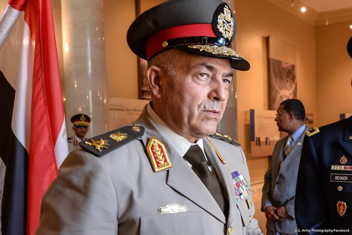 Egyptian Chief of Staff Mahmoud Hijazi [U.S. Army Photography/Facebook]