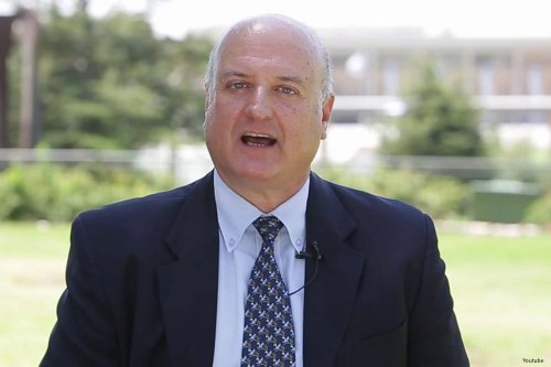 Image of Israel's ambassador in Cairo, David Govrin [YouTube]