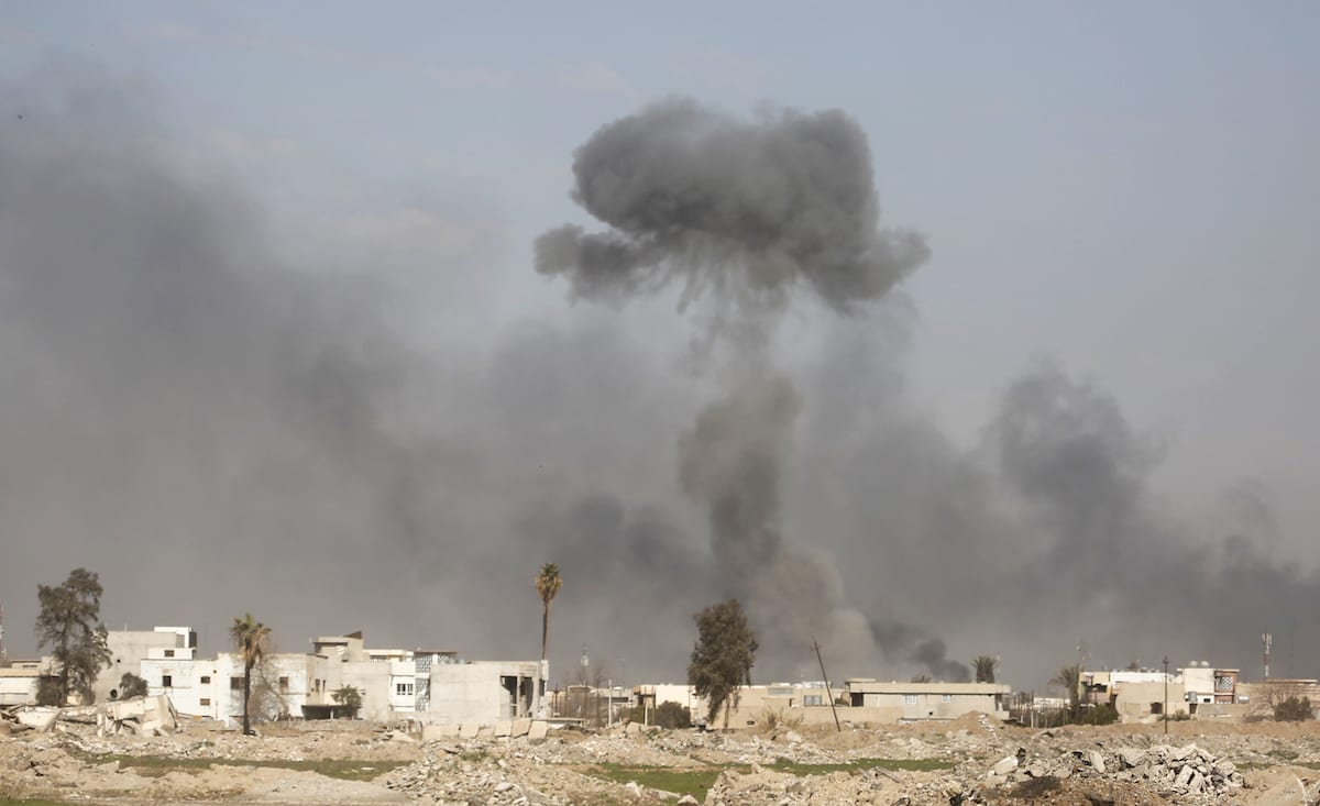 Iraq civilians killed in possible USA  airstrike in Mosul