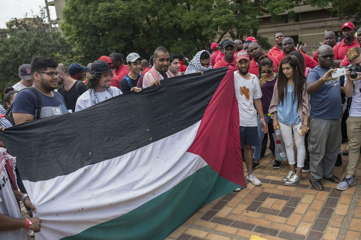 South Africa minister suspended over 'friend of Israel' comment