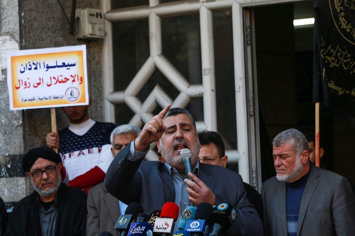 Islamic Jihad: Fatah conceded 78% of historical Palestine