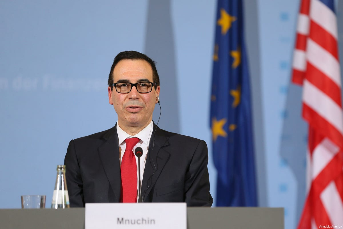 US Treasury Secretary: 'US eyeing sanctions over Turkey's S-400 buy'