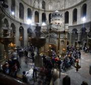 Jerusalem's Church of the Holy Sepulchre closed protesting Israeli policy