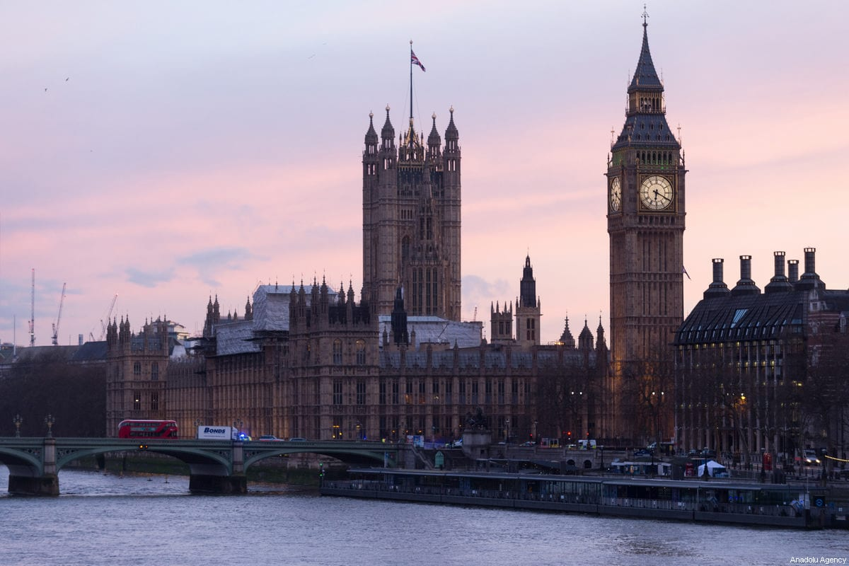 View of the River Thames and the House of Commons, the British parliament, seen on March 22, 2017 in London, England [Ray Tang / Anadolu Agency]
