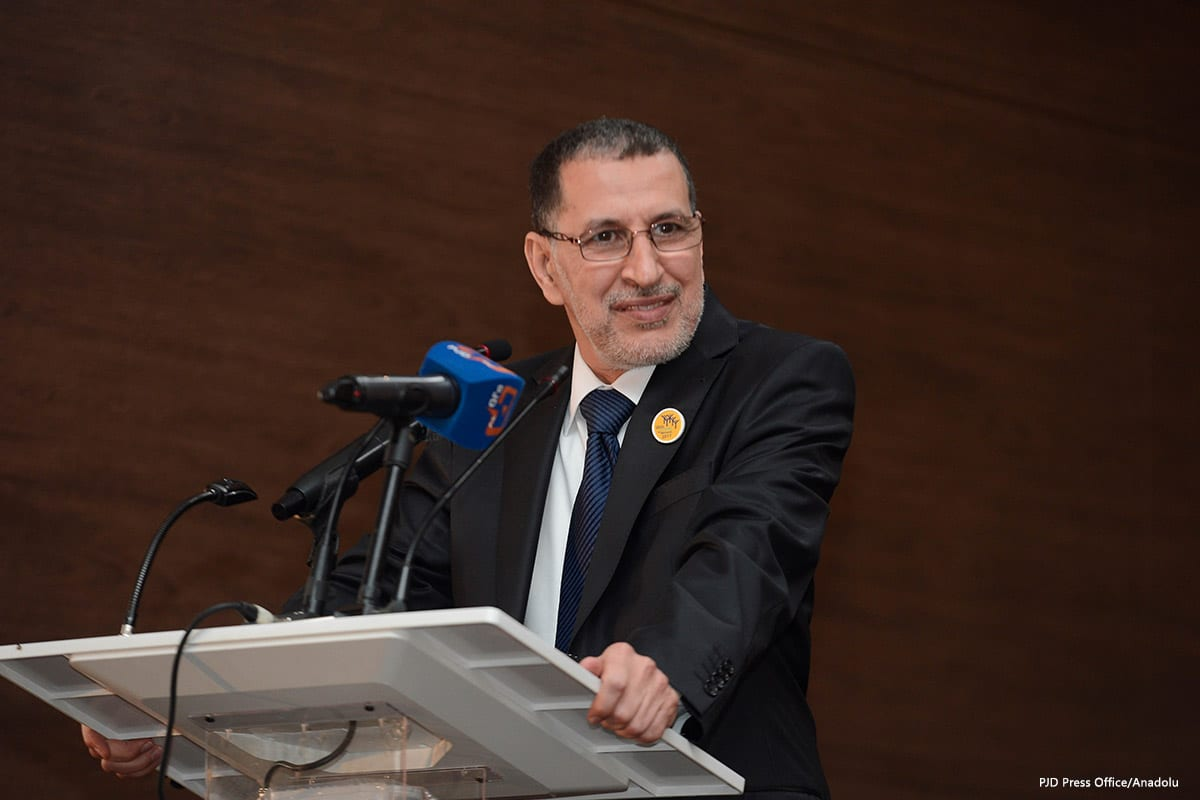 Image of Morocco's newly-appointed Prime Minister, Saad Eddine El-Othmani [PJD Press Office/Anadolu]
