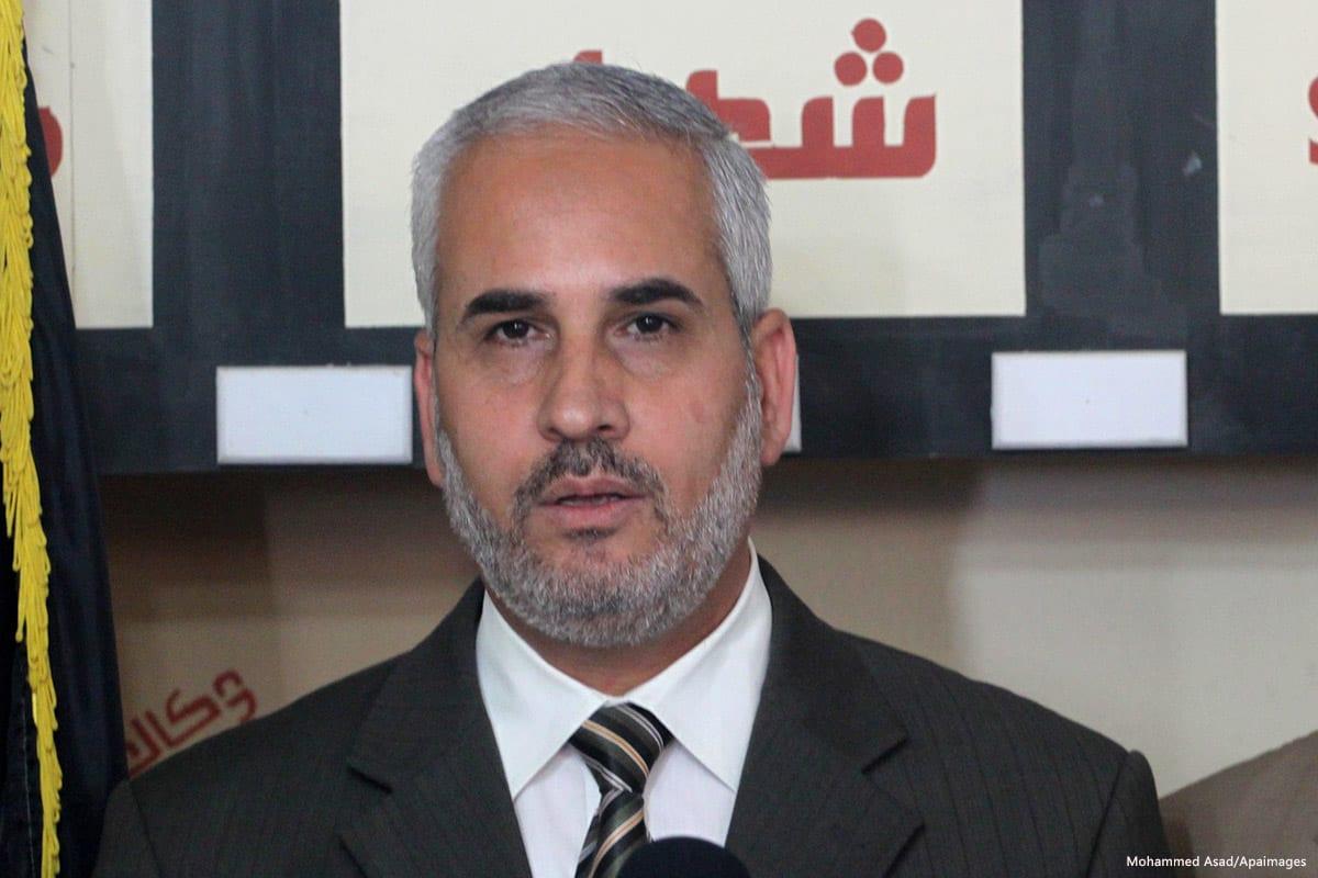 Image of Fawzi Barhoum, Hamas spokesman [Mohammed Asad/Apaimages]