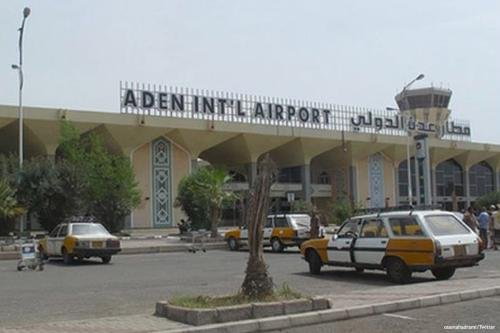 Image of Aden International Airport in southern Yemen [osamahadrami/Twitter]
