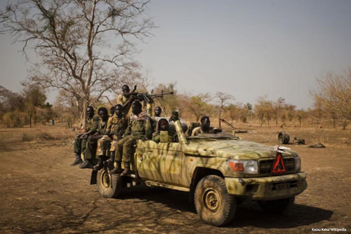 Image of Sudanese rebels [Kalou Kaka/Wikipedia]