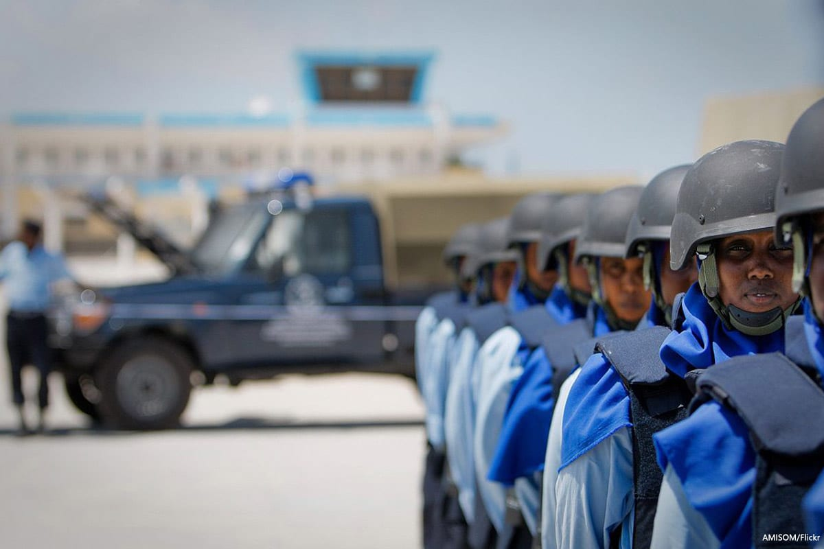 Image of Somali Police Force [AMISOM/Flickr]