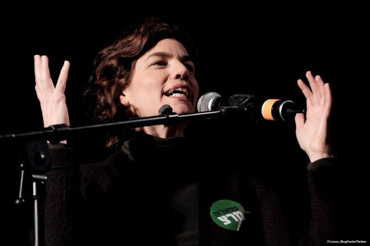 Image of Tamar Zandberg, Knesset member and leader of Meretz Party [Comm_BlogFeeds/Twitter]