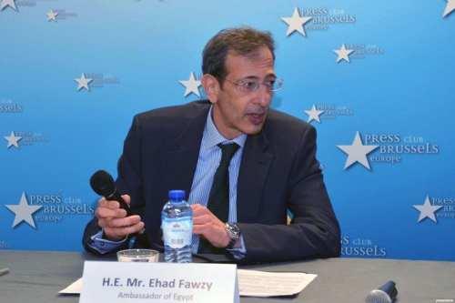 Former Egyptian ambassador to Belgium, Ehad Fawzy