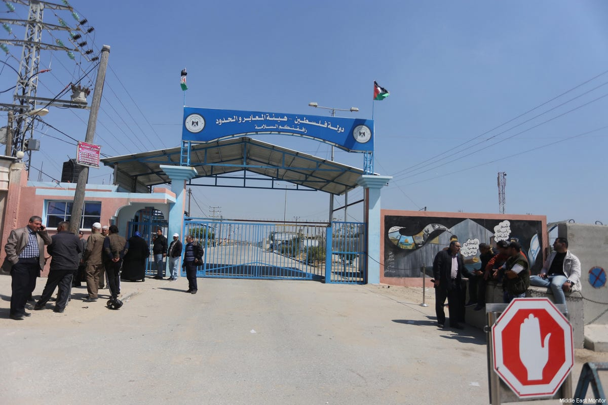 The Erez Crossing between Gaza and Israel, closed on the Gaza-side by Hamas officials in response to the assasination of one of it's leaders, Mazen Fuqaha, in the Gaza Strip on March 24, 2016 [Mohammed Asad / Middle East Monitor]