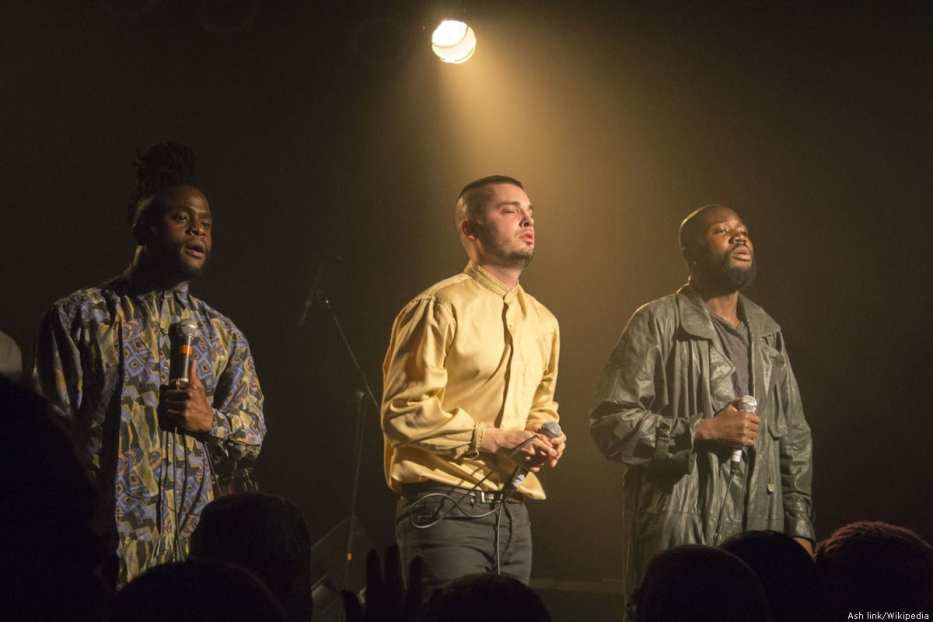 Scottish band Young Fathers