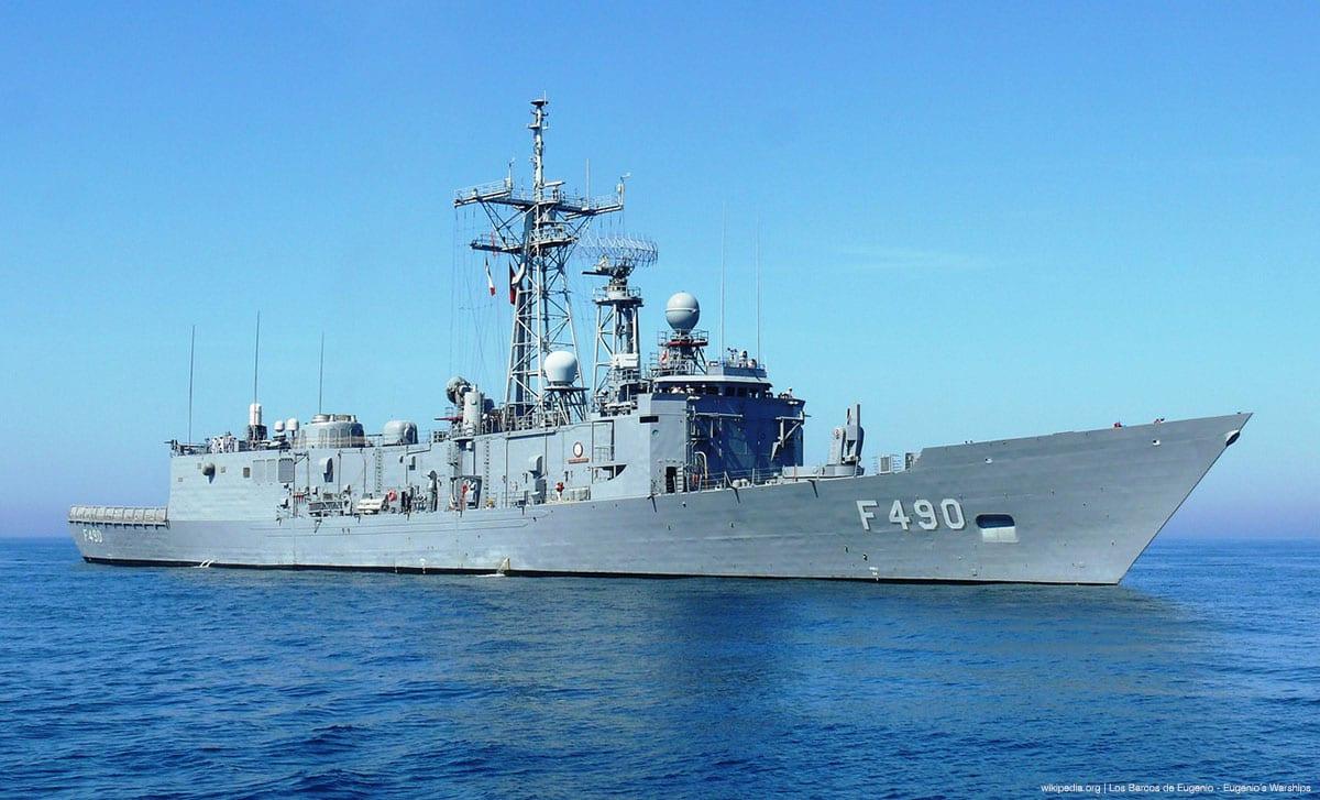 File photo of a Turkish ship