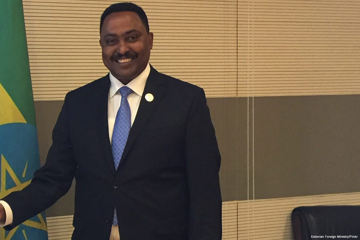 Image of Ethiopia's Minister of Foreign Affairs, Workneh Gebeyehu [Estonian Foreign Ministry/Flickr]