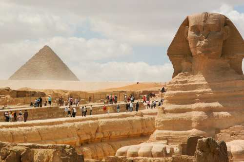 Great Sphinx of Giza in Cairo, Egypt - [Mstyslav Chernov/Wikepedia]