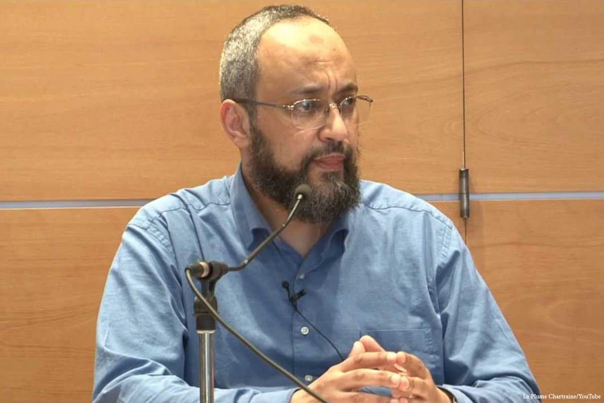 Image of Hani Ramadan [La Plume Chartraine/YouTube]