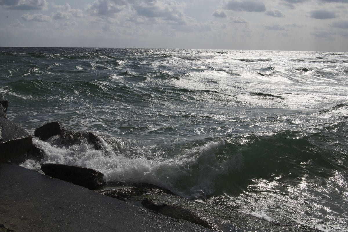 Image of the Black Sea on 2 October 2014 [Katya/Flickr]