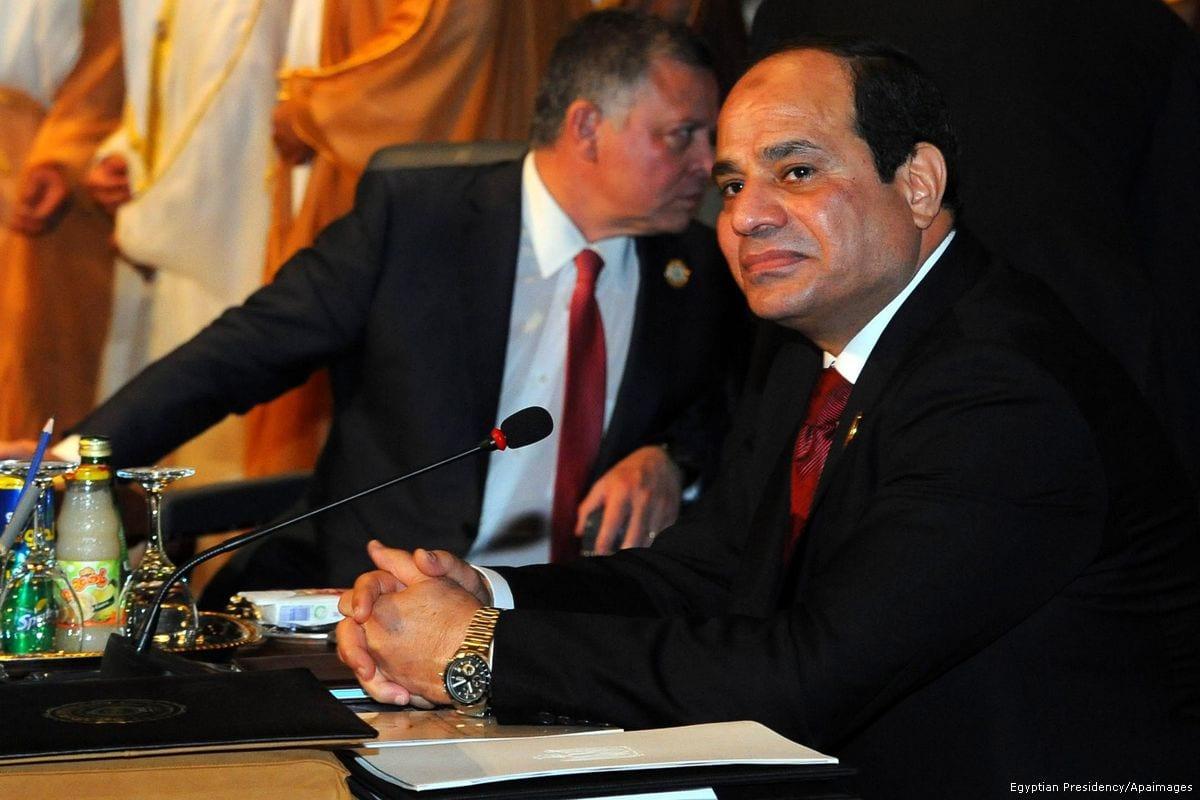 Image of Egyptian President Abdel Fattah al-Sisi [Egyptian President Office/Apaimages]
