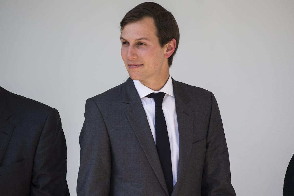 White House senior adviser Jared Kushner in Washington, US on 5 April, 2017 [Samuel Corum/Anadolu Agency]