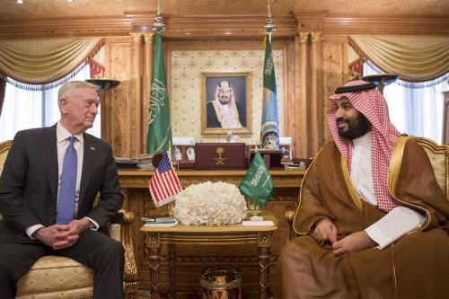 Mattis tells Saudi leader to end war in Yemen