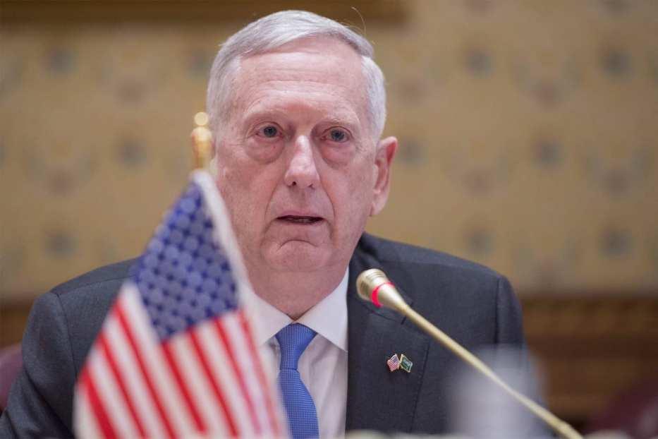 US Secretary of Defence, James Mattis [Anadolu Agency]