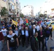 Palestinian factions call for general strike