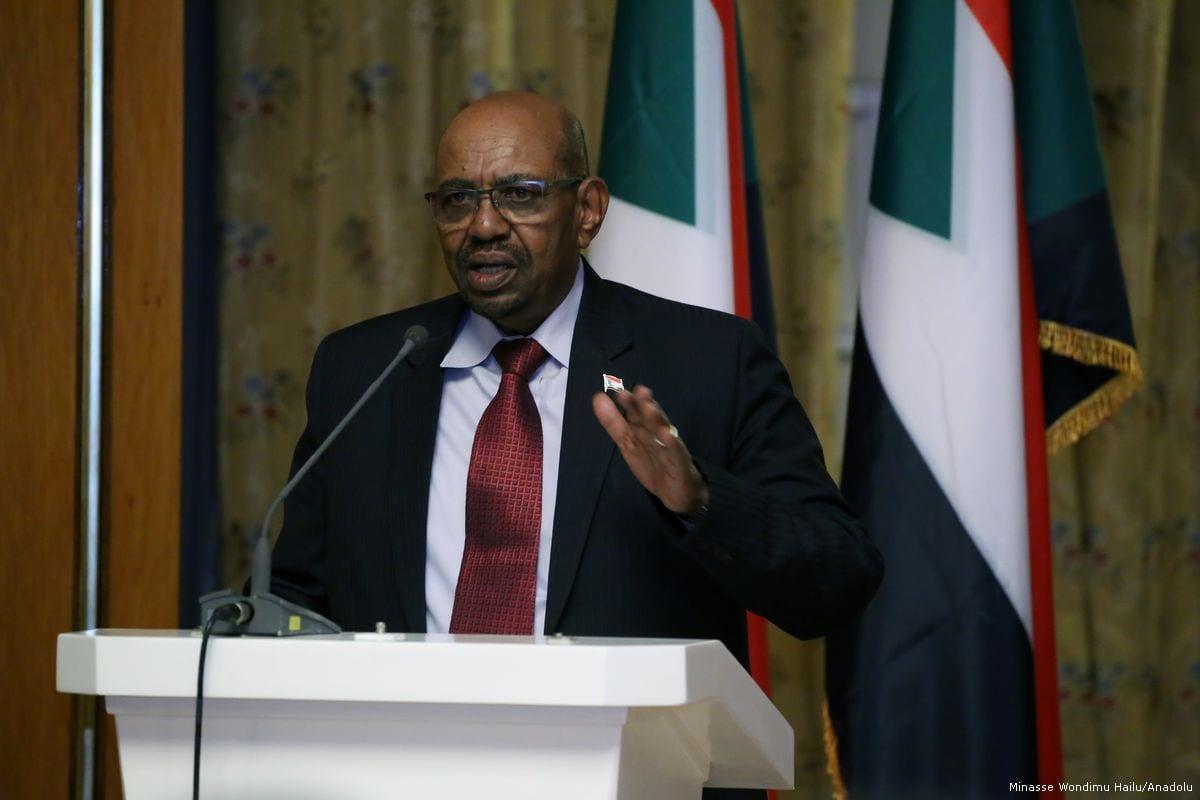 Image of Sudanese President Omar al-Bashir on 4 April 2017 (Minasse Wondimu Hailu /Anadolu Agency)