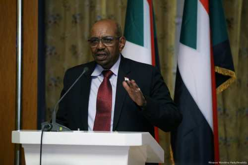 Image of Sudanese President Omar al-Bashir on 4 April 2017 (Minasse Wondimu Hailu /Anadolu Agency)