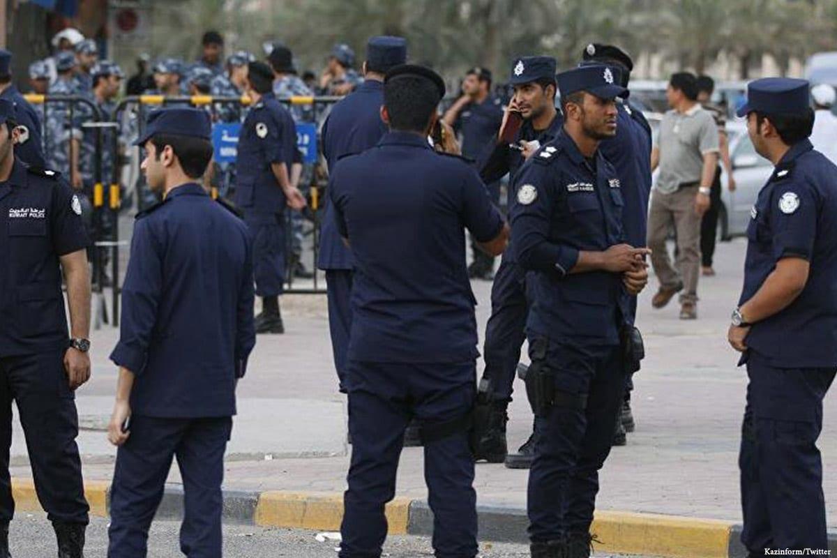 Image of Kuwaiti police [Kazinform/Twitter]
