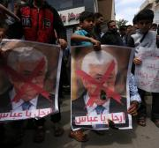 PA President Mahmoud Abbas needs to decide which side he's on