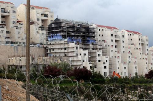 Israel advances plans for 1,292 settler homes, more expected today