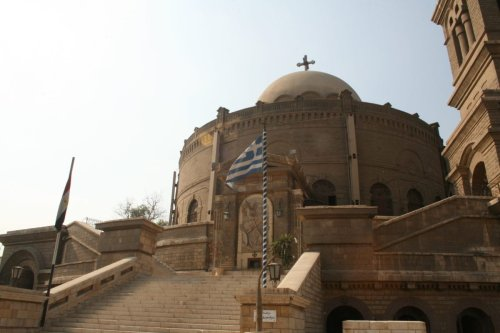 St. George, greek coptic church, Old Cairo, Egypt [Diego Delso / Wikimedia]