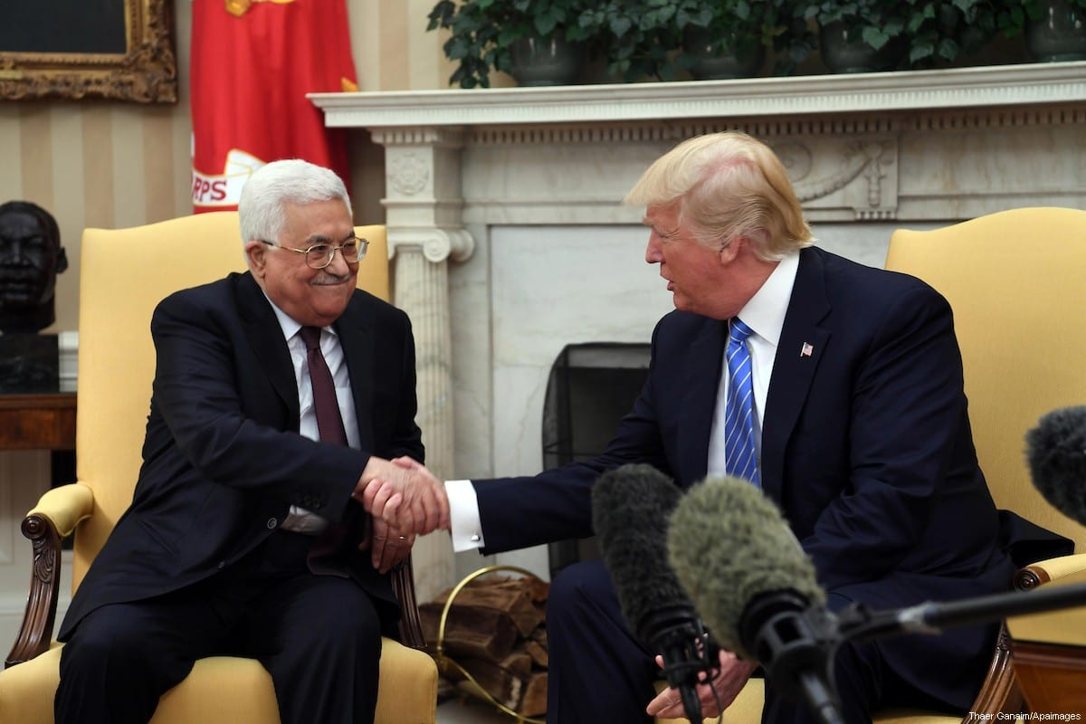 Trump, Abbas Reaffirm Commitment to Lasting Israeli-Palestinian Peace