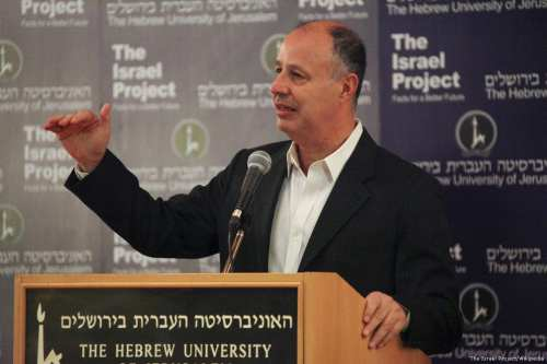 Image of Israeli minister, Tzachi Hanegbi on 8 January 2013 [The Israel Project/Wikipedia]