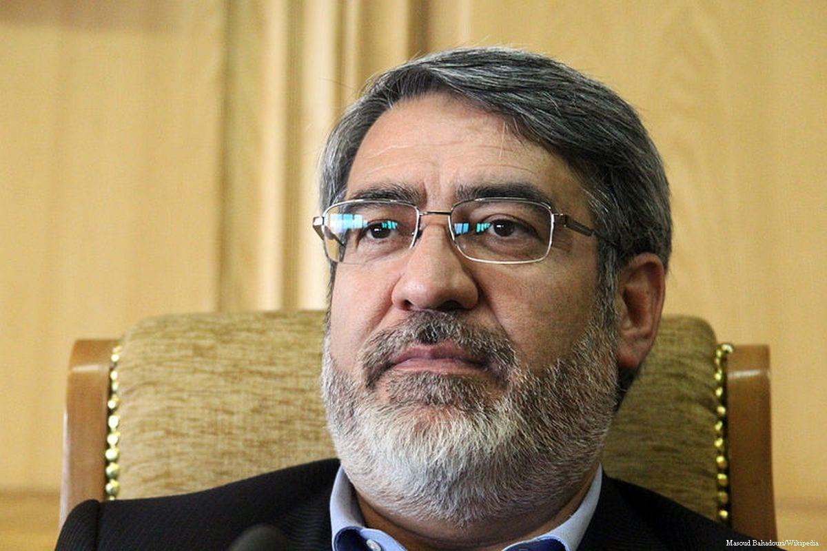 Image of Iran's Interior Minister, Abdul Reza Rahmani Fazli on 13 August 2013 [Masoud Bahadouri/Wikipedia]
