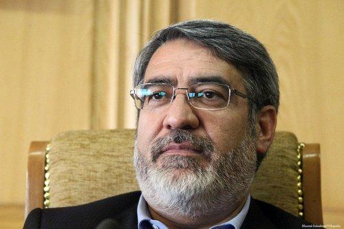 Iran's Interior Minister, Abdul Reza Rahmani Fazli on 13 August 2013 [Masoud Bahadouri/Wikipedia]