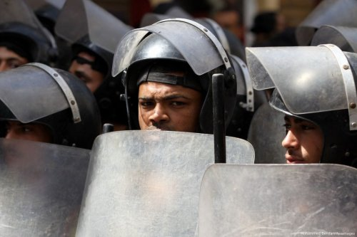Image of Egyptian soldiers [Mohammed Bendari/Apaimages]