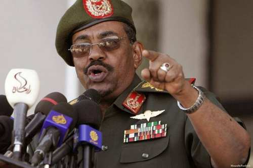 Sudanese President, Omar Al-Bashir [Anadolu Agency]
