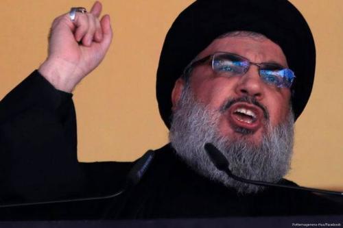 Hezbollah leader Hassan Nasrallah [Pottemagerens-Hus/Facebook]
