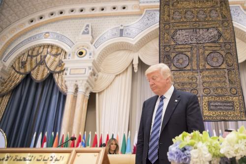 Trump reluctantly meets Libyan PM