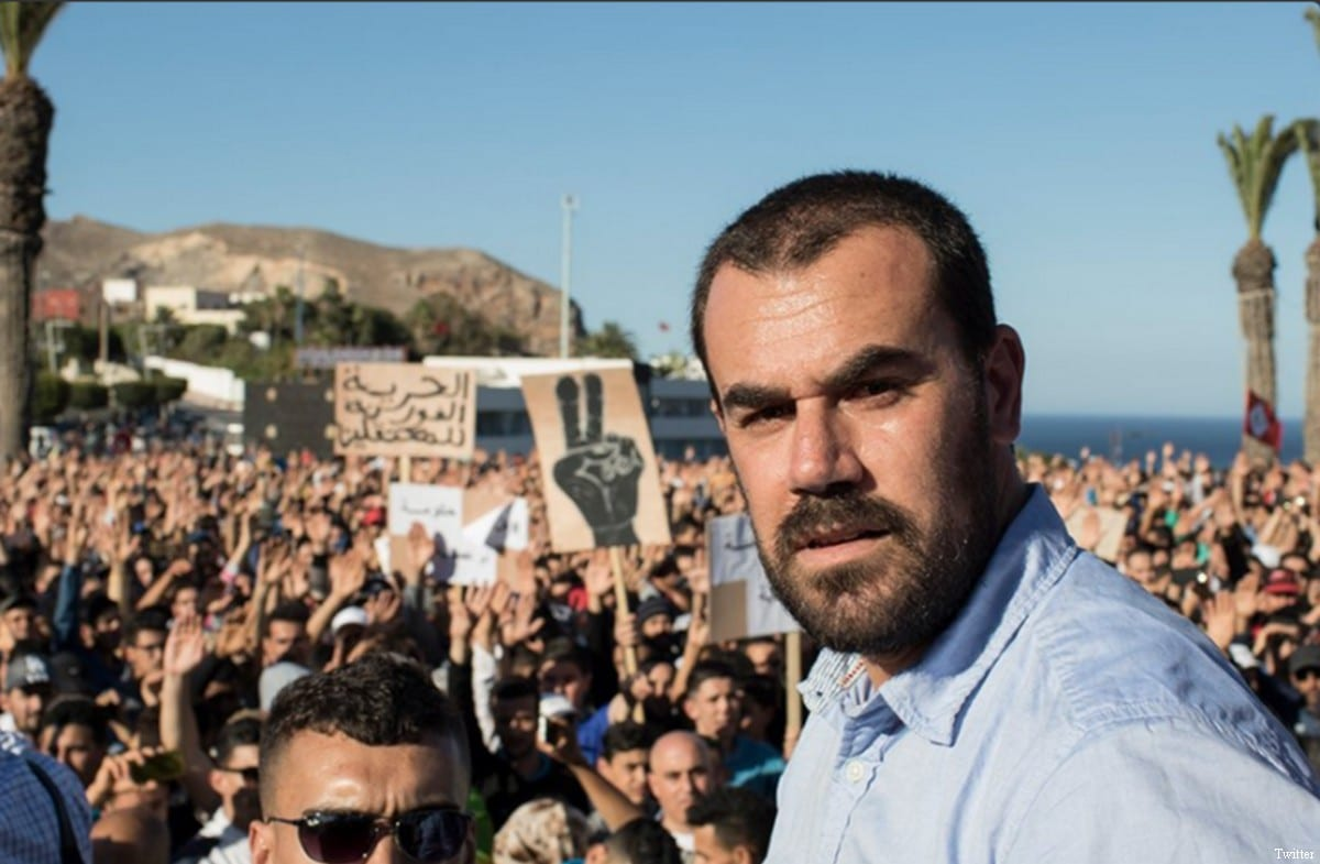 Nasser Zefzafi, Rif protests leader in Morocco [Twitter]
